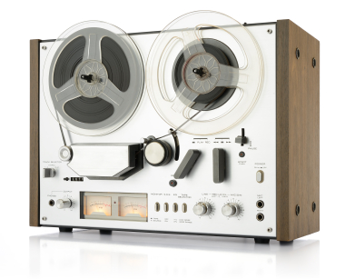 A Typical Reel to Reel Deck. Reel to reel to cd transfer